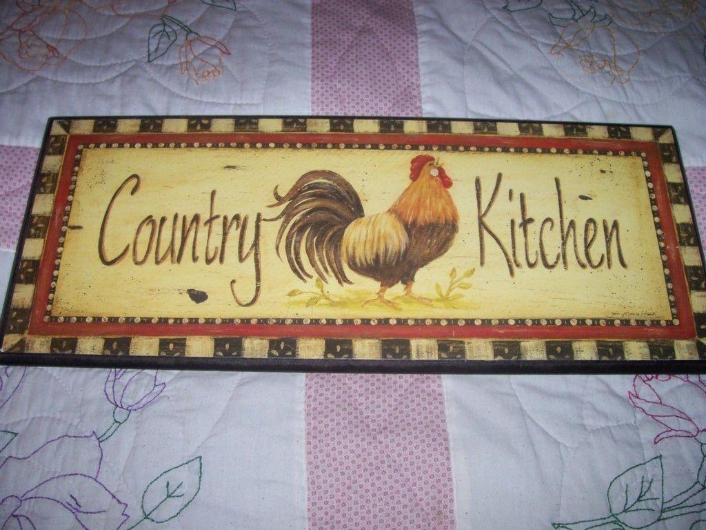 21x8 5 Rooster Kitchen Decor | eBay | dream kitchen | Pinterest ...