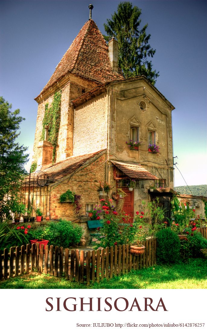 PARISH HOUSE- CHURCH FROM THE HILL - SIGHISOARA  https://www.facebook.com/FromTransylvaniaWithLove
