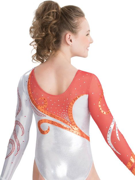 Swirl Rush Competition Leotard from GK Elite  ae72f45e6cf