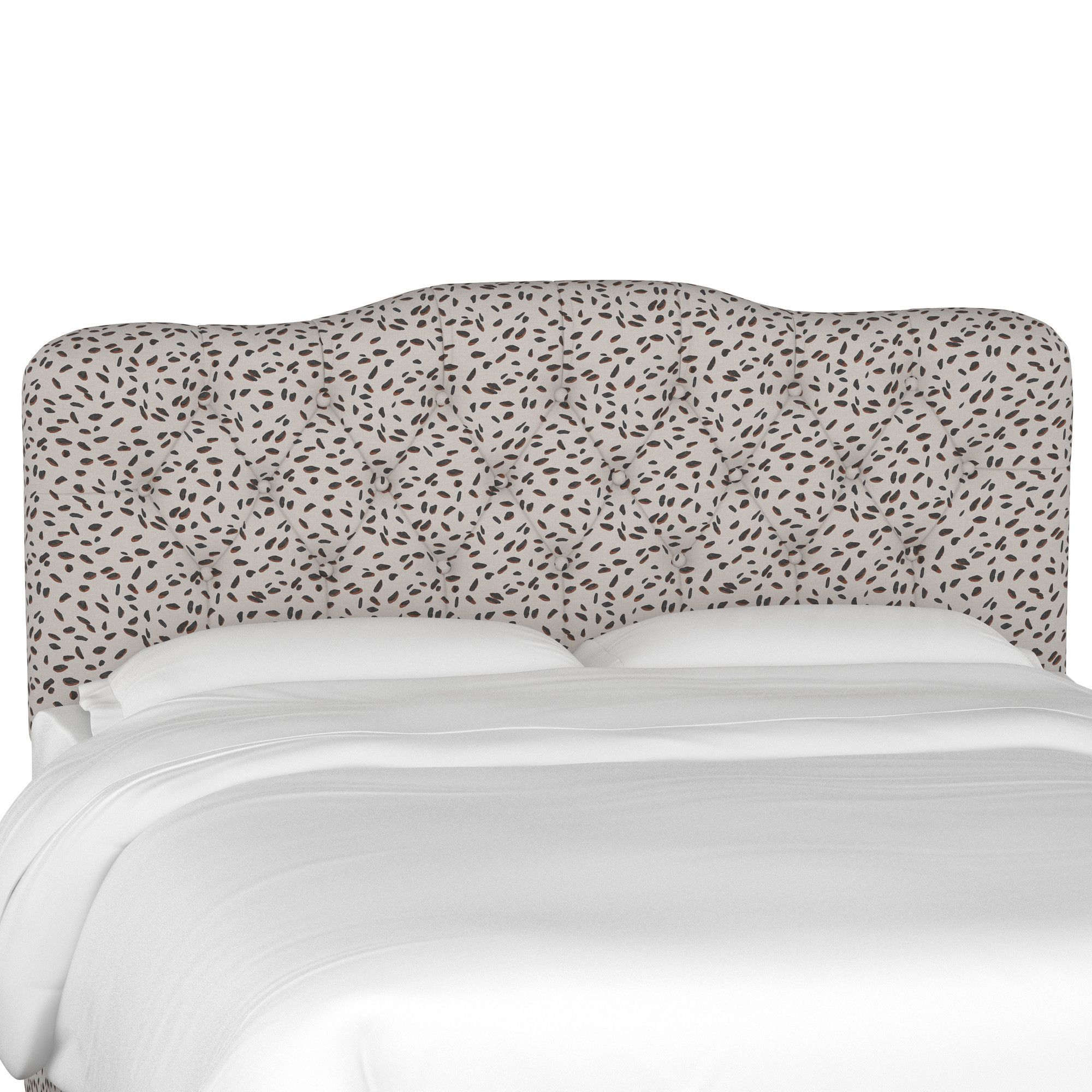 Alcock Tufted Polyester Upholstered Headboard   Products   Pinterest