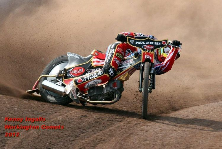 American Aboard, California's Kenny Ingalls, on Track for World Speedway Domination