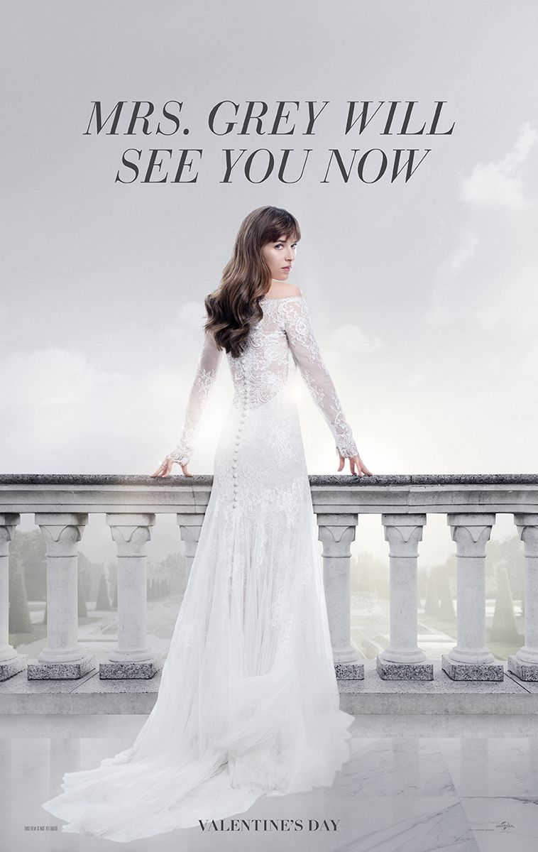 Mrs Grey Will See You Now Fifty Shades Freed In Theaters