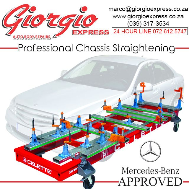 Professional Chassis Straightening Giorgio Express Auto Body Repair Auto Body Latest Mercedes Benz