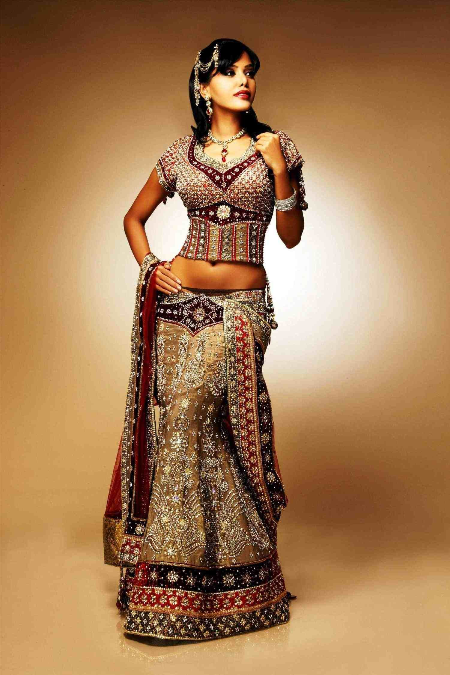 Most Beautiful Indian Wedding Dresses In The World Weddings
