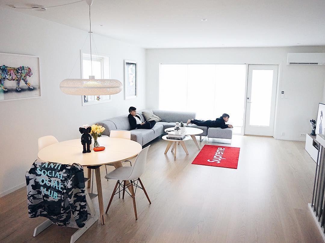 Hypebeast Inspired Rooms Kaws Supreme Drahuws Brick Bear Brick Living Room Small Living Room Decor Living Room Setup