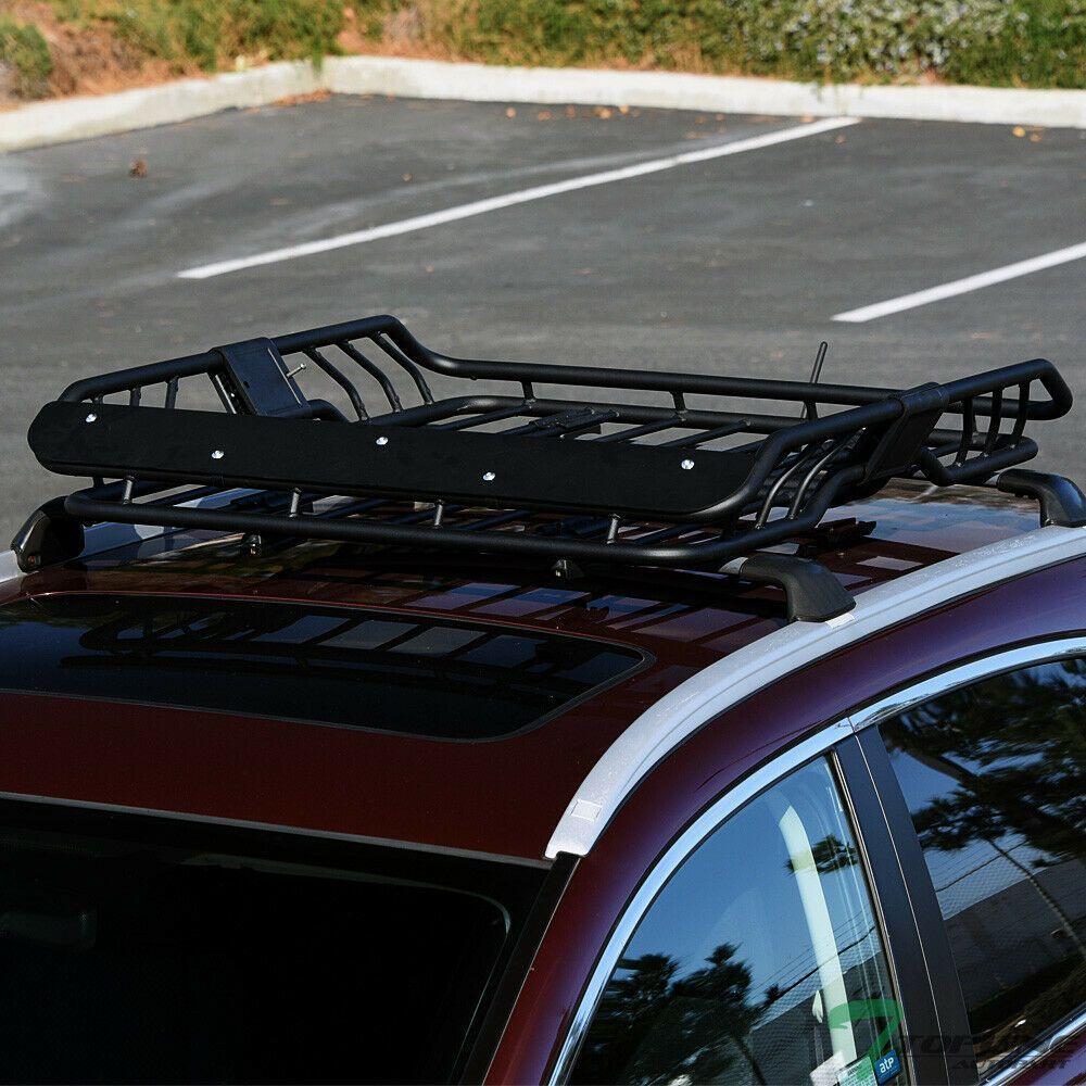 Sponsored Ebay Topline Modular Steel Roof Rack Basket Cargo Carrier W Wind Fairing For Subaru Fashion Roof Rack Basket Cargo Carrier Roof Rack