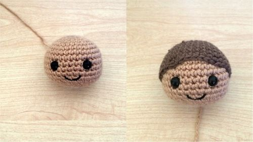 Amigurumi Hair Tutorial : 53stitches u2022 curly amigurumi hair tutorial crochet pinterest
