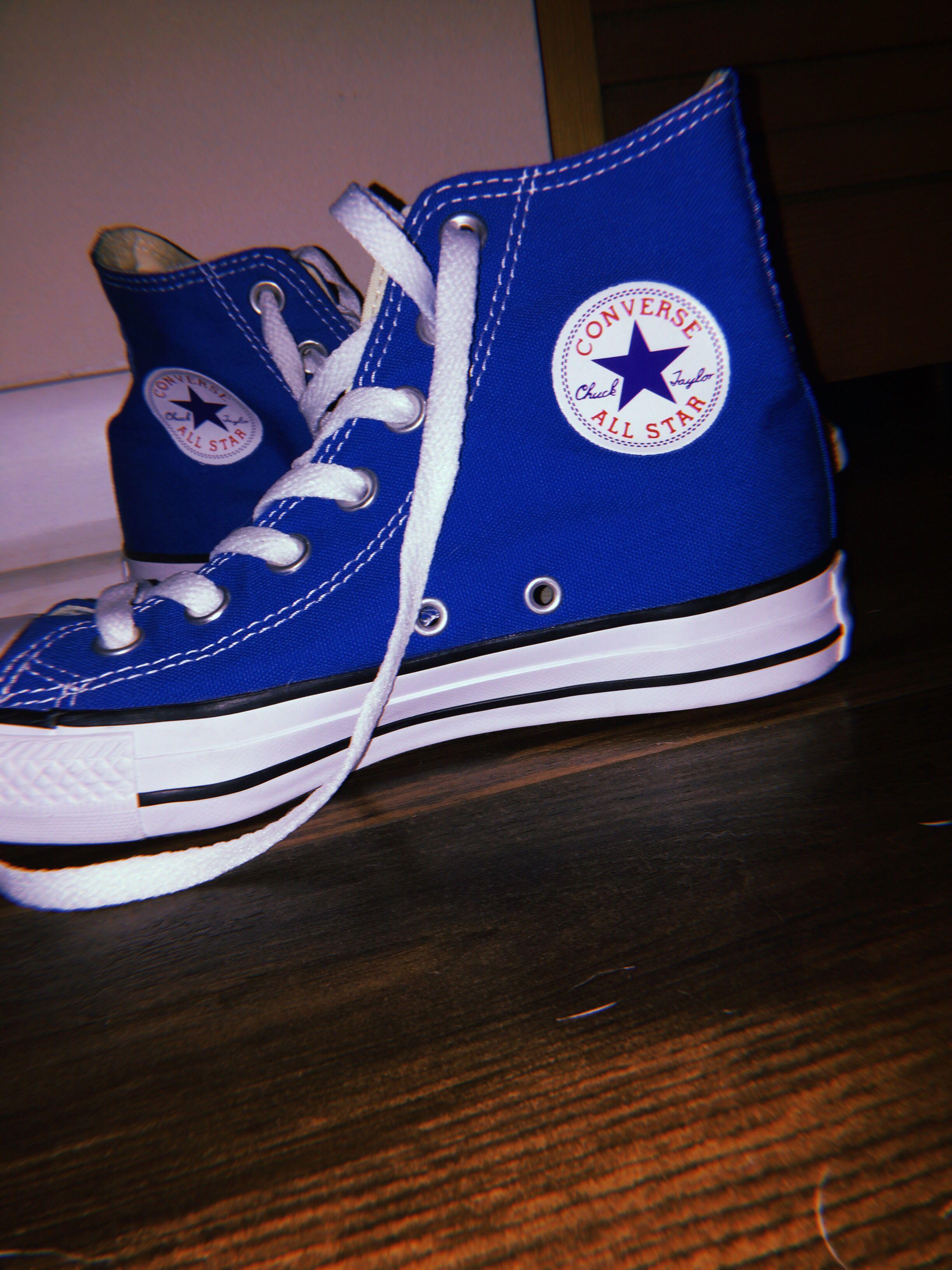 all star converse blu vintage