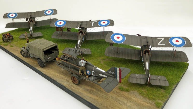 Wingnut Wings 1 32 S E 5a Diorama Large Scale Planes Model Planes Diorama Aircraft Modeling
