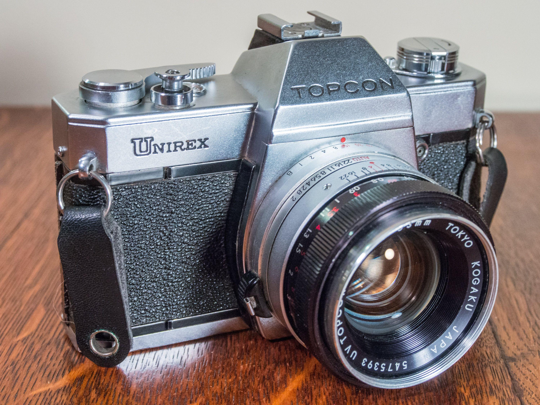 Topcon Unirex, Film Camera, 35mm Film Camera, Vintage ...