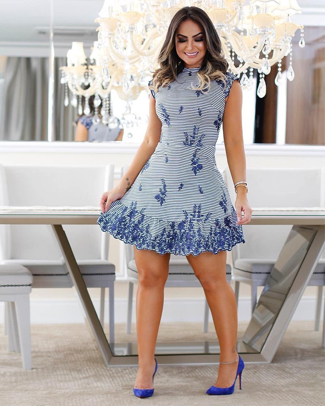 62d18c4de Pin de Ruth em vestidos♥ em 2019 | Dresses, Outfits e Cute outfits