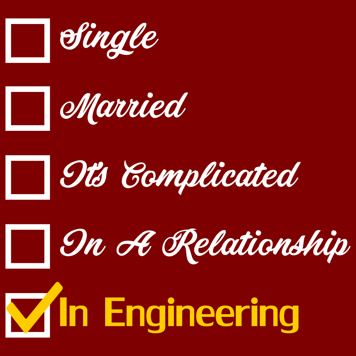 Engineering Relationship Status Funny Quotes For Instagram Relationship Status Best Friends Forever Quotes