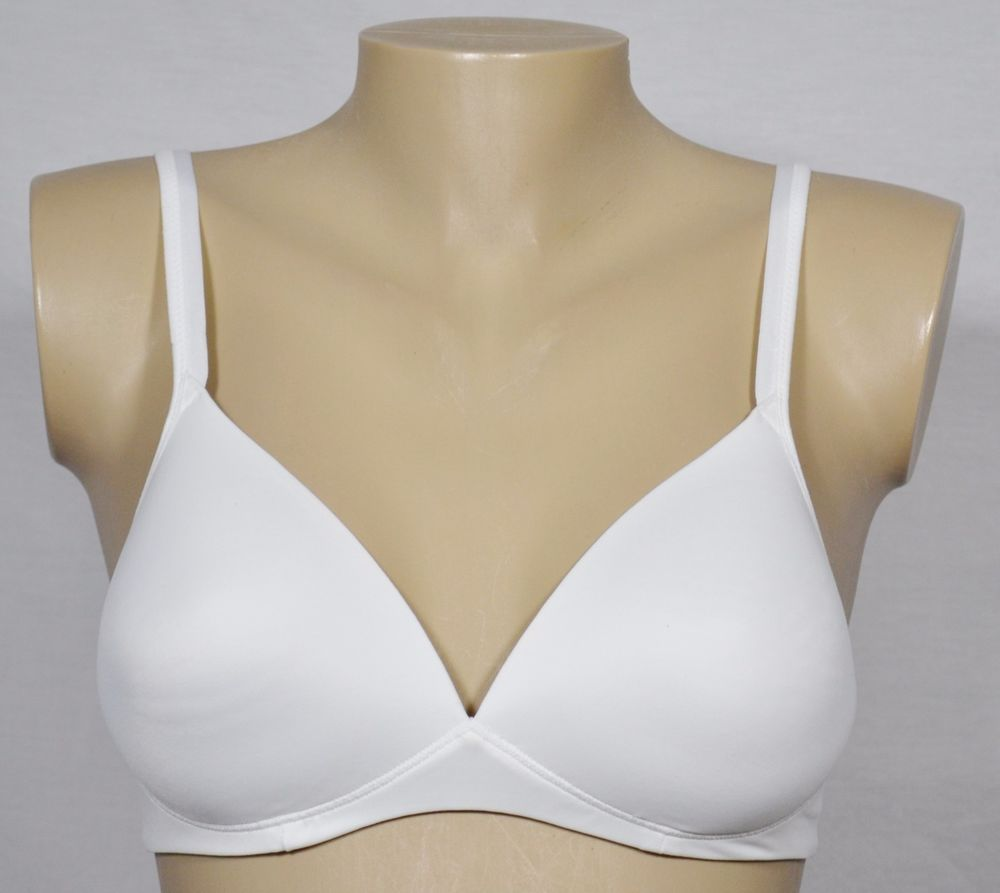 333a121b694 WARNER S White Elements of Bliss Wire Free Lift Padded Push-Up Bra 34B  01298  Warners  WireFree