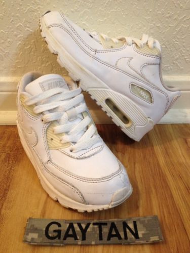 Nike Air Max 90 Retro Og Leather Sz 13 C Running Sneakers Nice Kicks