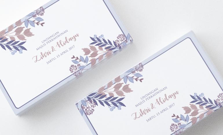 Kad Kahwin Klop Wedding Cards Wedding Invitations Kad Kahwin