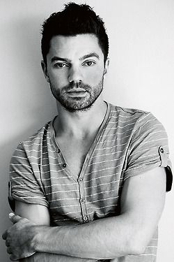 English Actor Dominic Cooper.