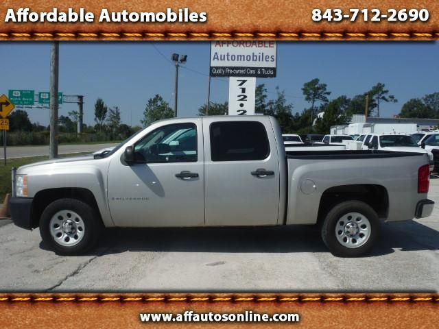 Used 2009 Chevrolet Silverado 1500 Crew Cab Work Truck For Sale In