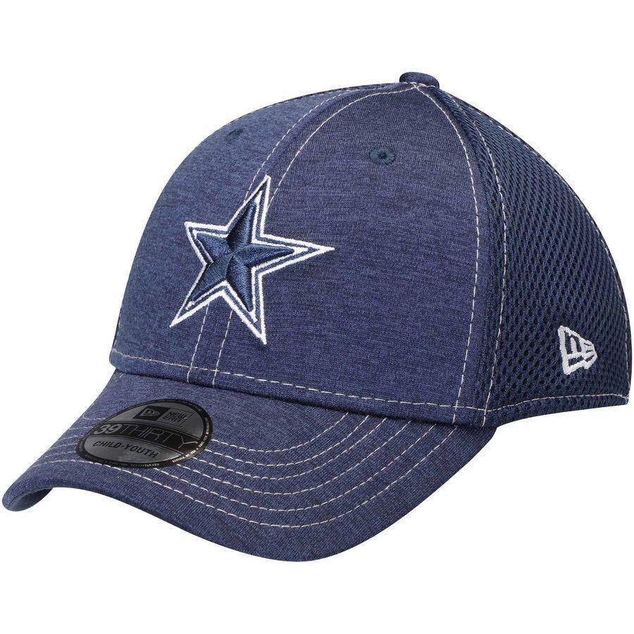 Youth Dallas Cowboys New Era Navy Classic Shade Neo 39THIRTY Flex ... a62514f51