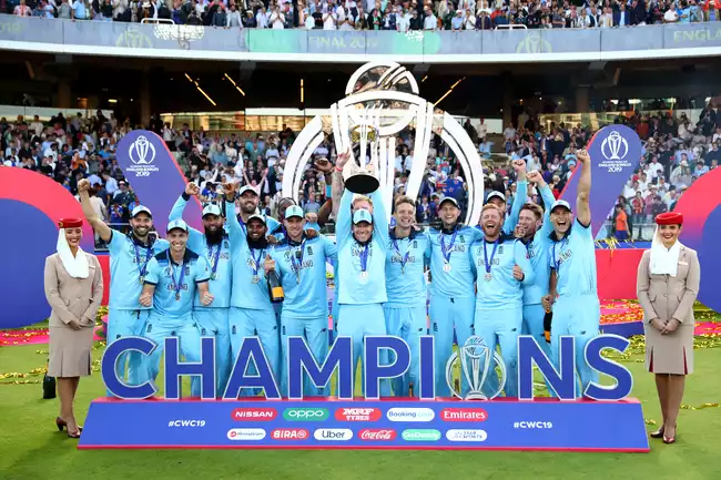 The 2019 World Cup Champions Cricket World Cup World Cup Champions World Cup
