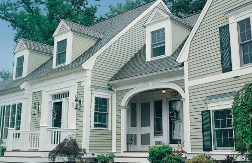 Natural Wood Siding Benefits Wood Siding Stone Siding Exterior House In The Woods