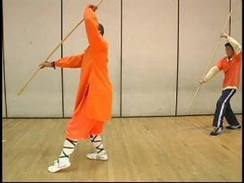 Kung Fu Weapon Training Meihuaquan Kung Fu Bo Staff Moves 7 12 Bo Staff Kung Fu Martial Arts Workout