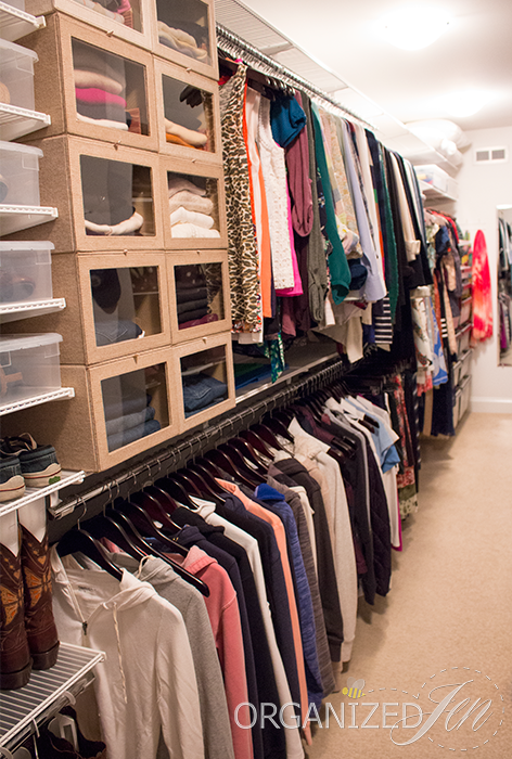 Talk about closet envy!! We LOVE Jen's fabulously