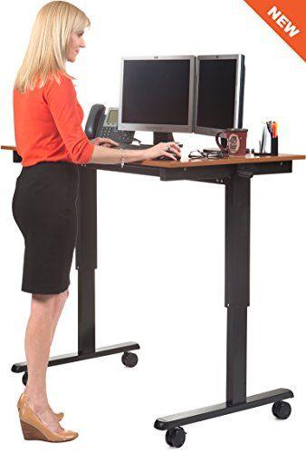 48 crank adjustable standing desk height adjustable for wheelchair access assistive. Black Bedroom Furniture Sets. Home Design Ideas