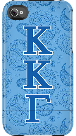 """Kappa Kappa Gamma Paisley"" by Sorority Life for the iPhone 4/4S Capsule"