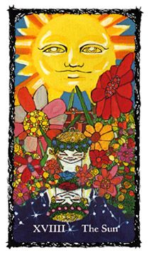 The Sun - Sacred Rose Tarot | 19 - The Sun - Accomplishment in 2019
