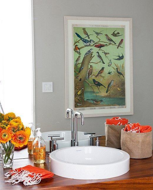 inside the family friendly home of artist jen wink color brights rh pinterest fr