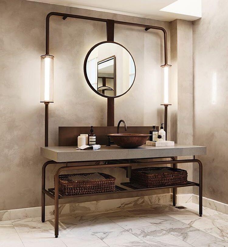Bathroom, Industrial Bathroom