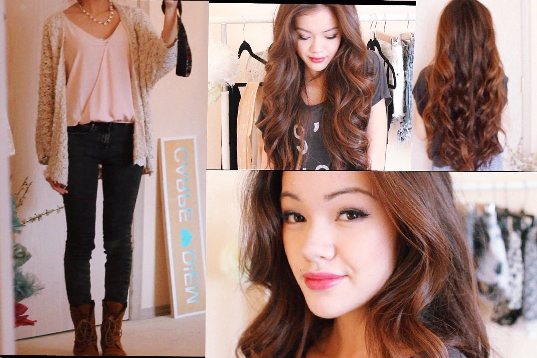 Get Ready With Me My Birthday Hair Makeup and Outfit