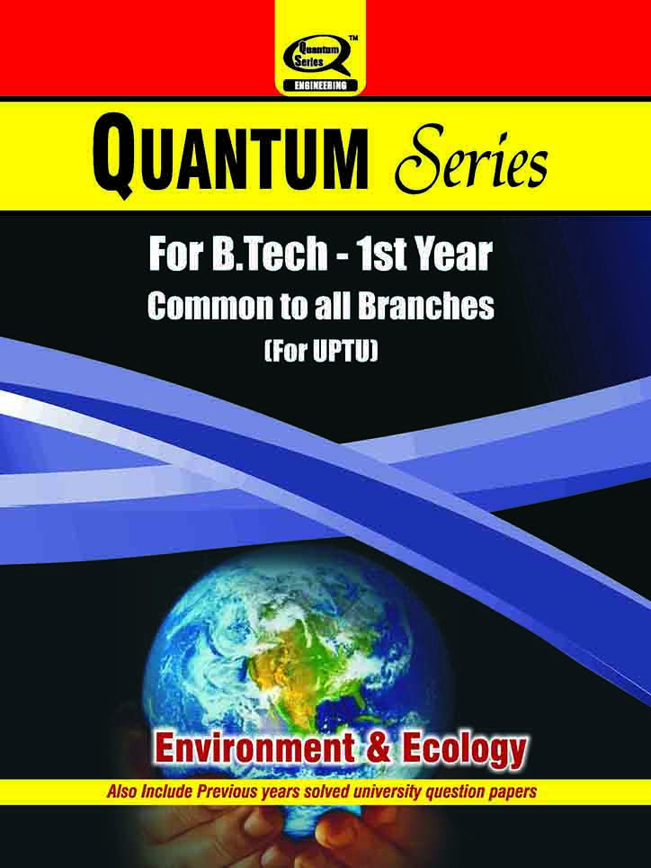 Environment Ecology Book Available For B Tech 1st Year Students
