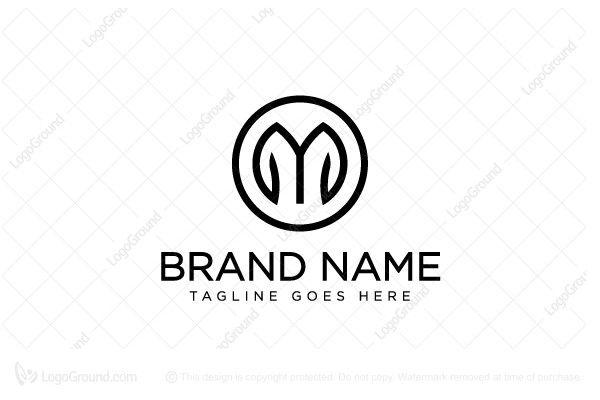 Letter M Clothing Logo Clothing Logo Logo Design Lettering