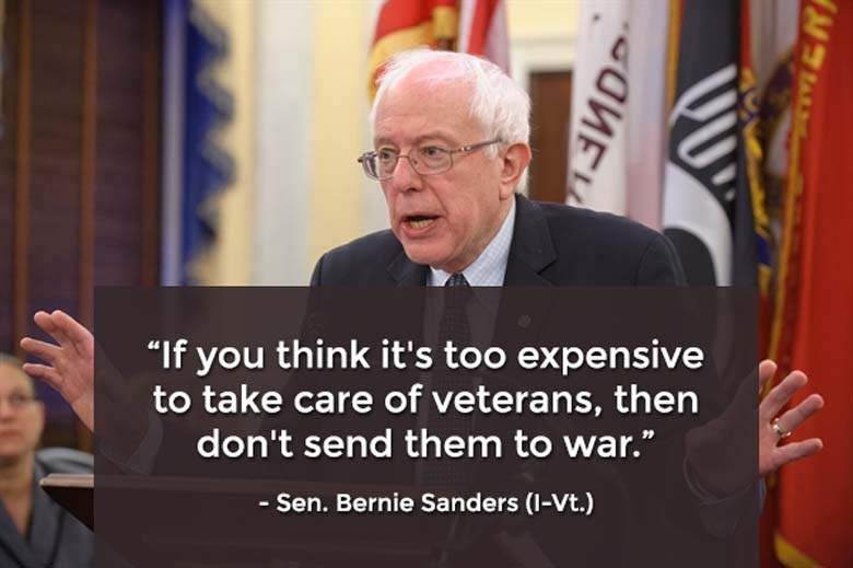 Go Bernie Veteran S Day Memes Facebook Cover Photos Political Quotes Activism Quotes What Is Life About