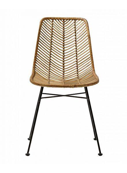 Bloomingville chaise lena rotin naturel bloomingville