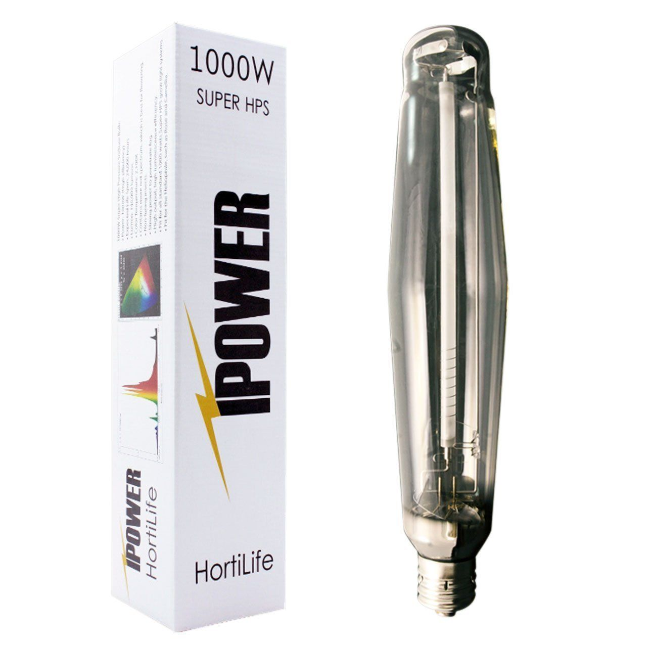 Ipower 1000 Watt High Pressure Sodium Hps Grow Light Bulb Lamp High Par Enhanced Red And Orange Spectrums Cct Grow Light Bulbs Hps Grow Lights Light Bulb Lamp