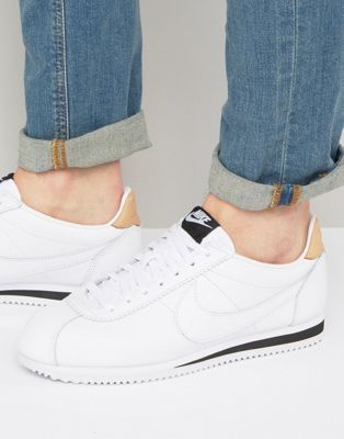Nike Cortez Leather SE Trainers In Blanc 861535 101 new