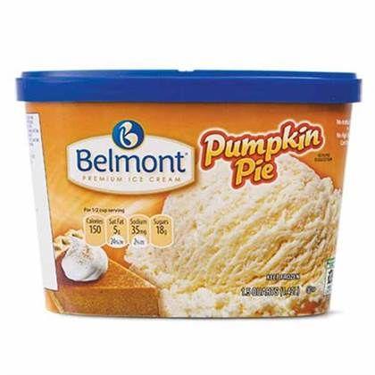 aldi's pumpkin praline icecream | Belmont Pumpkin Pie or Pumpkin Praline Ice Cream at ALDI in Atlanta ...