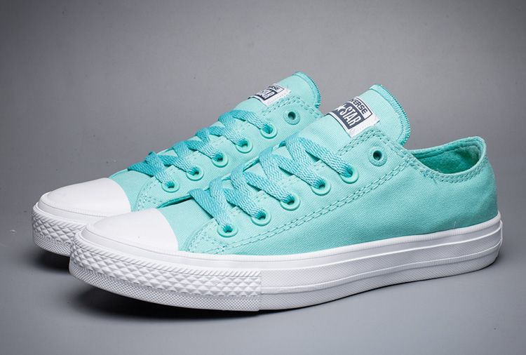 f60ee4554b6e Converse Chuck Taylor II All Star Fresh Color Mint Green Women Low Canvas  Shoes  converse  shoes