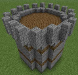 how to build medieval style in minecraft