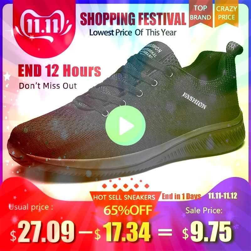 Mesh Men Casual Shoes Lacup Men Shoes Lightweight Comfortable Breathable Walking Sneakers Tenis masculino Zapatillas HombreNew Mesh Men Casual Shoes Lacup Men Shoes Light...