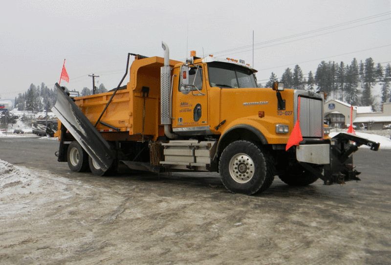 Western Star Snow Plow Truck Plow Truck Snow Plow Trucks