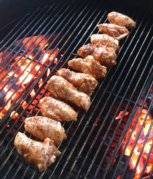Crispy Spicy Chicken Wings On The Grill Recipe Grilled Chicken Wings