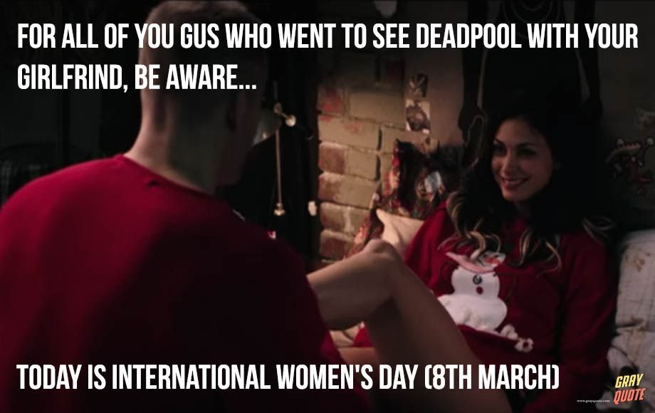 International Women S Day Deadpool Scene Gif Meme Thanksgiving International Women S Day Deadpoo International Women S Day International Womens Day Deadpool En la edición de 2014 fueron 1.504 las valientes que recorrieron el circuito valenciano. international womens day deadpool