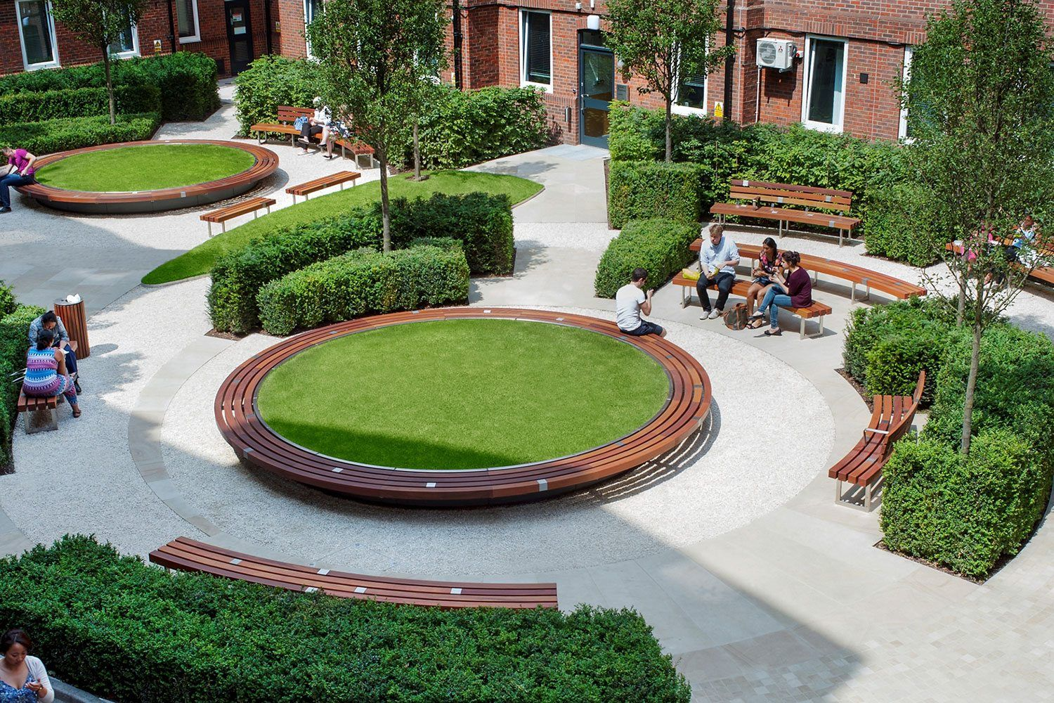 Guy's and St Thomas', London - Factory Furniture | Garden ...