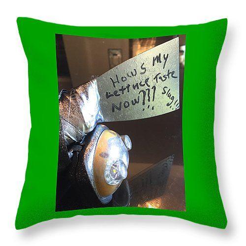 "lettuce Throw Pillow 14"" x 14"""