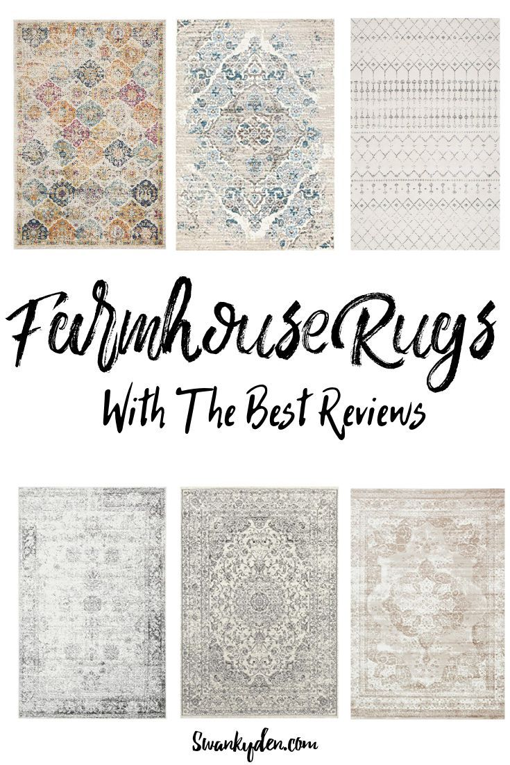 Where To Buy The Best Farmhouse Rugs & Save 2020 - SwankyDen.com