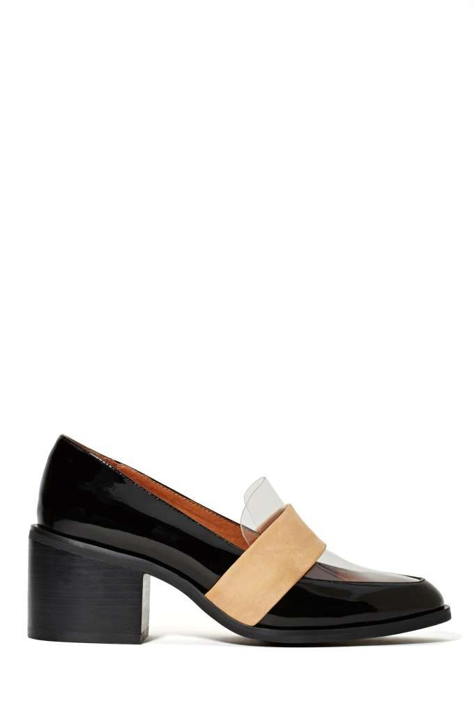 2e6b600fb607 Jeffrey Campbell Irving Loafer - Black at Nasty Gal