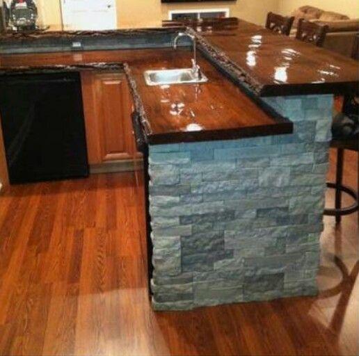 My bar arredamento bar en casa bar e cocinas - Casa americana in legno ...
